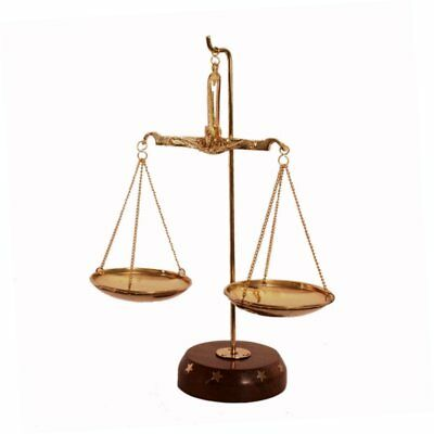 Brass Weighing Scale Balance Justice Law Scale Decoration weight Scale measure