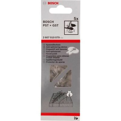 Bosch Anti-splinter guard for Jigsaws - Pack of  5 - 2607010079
