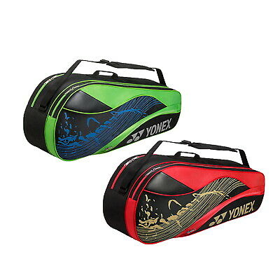 Yonex Badminton Bag - 4826EX 6-Racquet Bag for Tennis Badminton Squash