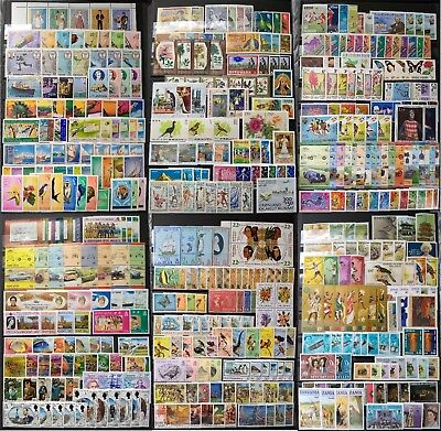 WORLDWIDE stamp collection MNH (300+ countries)  + FULL SETS + FREE GIFT CV:$250