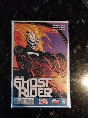 All New Ghost Rider #2 Second Print