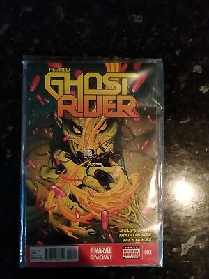 All New Ghost Rider #3 1st Print.2014