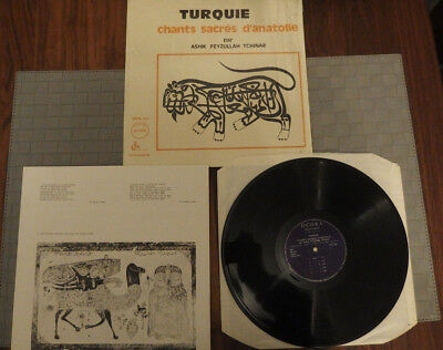 Ashik Feyzullah Tchinar - Turquie Chants sacres d'anatolie NM Condition RARE
