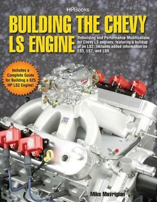 HP Books Building the Chevy LS Engine P/N HP1559