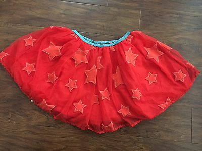 NWT Mini Boden 9-10 11-12 girls Tulle skirt applique star party dress-up