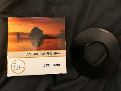 Lee Filters 49mm Adapter Ring For 100mm Filter Holder
