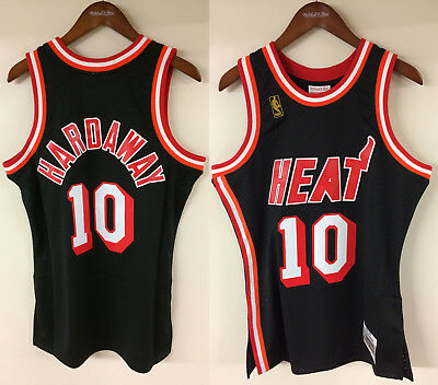 773e1a41 ... throwback jersey 57cc5 0f811 hot tim hardaway miami heat 10 mitchell  ness nba authentic jersey 1996 1997 e7b19 839b3 ...