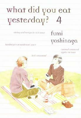 What Did You Eat Yesterday?. Volume 4 by Fumi Yoshinaga (author)