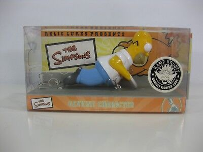 Homer Diver Relic Lures THE SIMPSONS Fishing Lure New