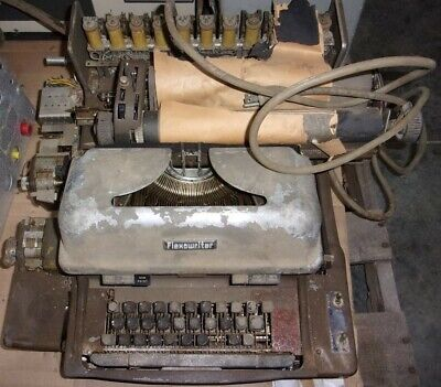 Friden FPC5 Programatic Flexowriter w/Cord/UNTESTED/MISSING KEYS/COVERS/AS-IS