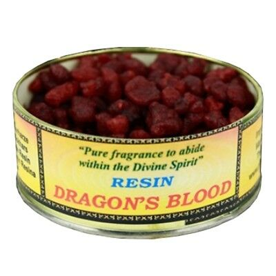 Find Something Different 60 grams of Resin Incense Dragon's Blood in a Tin
