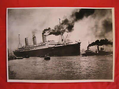 SS IMPERATOR OCEAN LINER ORIGINAL BLACK AND WHITE PHOTOGRAPH 9.5 x 6.5 (LOT 139)