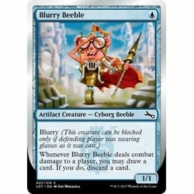 MTG UNSTABLE BLURRY BEEBLE x4 Magic the Gathering MINT - $0 99