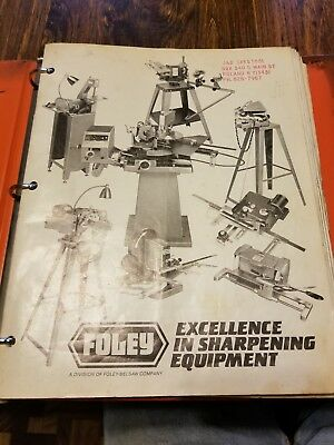 14 Vintage Foley-Belsaw Owners Manual Collection Saw Chainsaw