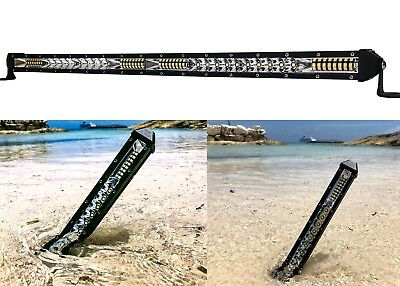 "20"" Ultra Slim High Output Osram LED Light Bar Single Row Combo Beam Offroad 12v"