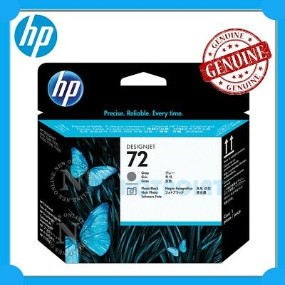 HP Genuine #72 PHOTO BLACK/GREY Print Head for Designjet T790/T795/T1100 C9380A
