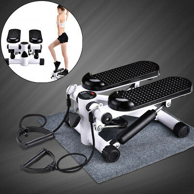 Gym Aerobic Exercise Mini Stepper Workout Leg Arms Thigh Machine Fitness Stepper