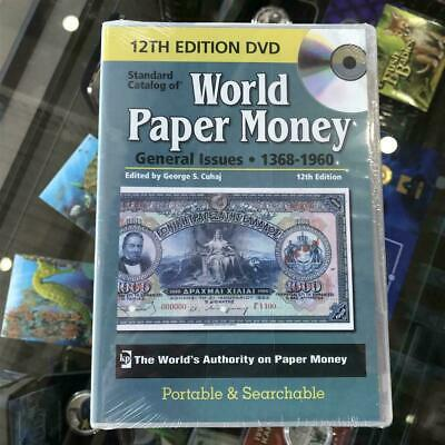 New KRAUSE 2008 CATALOGUE OF Paper Money 1368-1960 CD/DVD