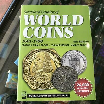 KRAUSE 2013 World Coins Catalogue 1601-1700 6th Editon Softcover