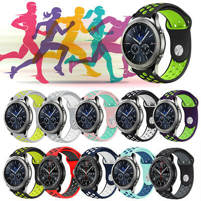 Replacement Silicone Sport Band Strap For Samsung GearS3 Frontier/Classic 22mm