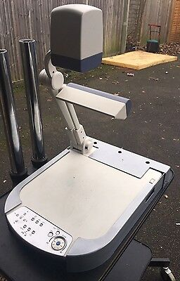 ELMO P30 Visialiser & Document Camera With Power Adapter And Desk Housing
