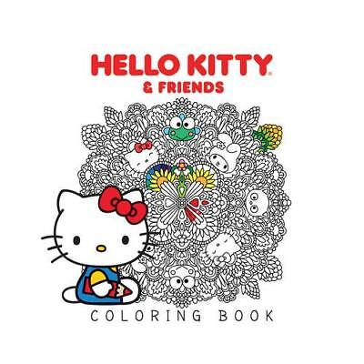 Hello Kitty & Friends Coloring Book by Various (author)
