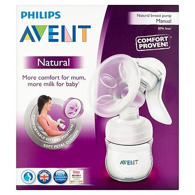 Nuevo Philips AVENT SCF330/20 Manual Natural Sacaleches sin BPA