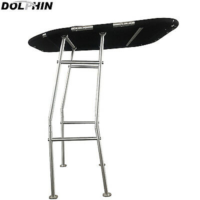 NEW! Dolphin Pro Boat T Top Black canopy | Heavy Duty T Top