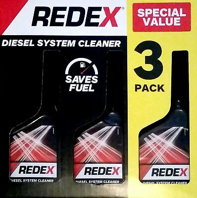 Redex Diesel System Cleaner Value Pack 3 x 250ml Bottles