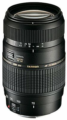 TAMRON telephoto zoom lens AF70-300mm F4-5.6 Di MACRO full size for Canon A17E