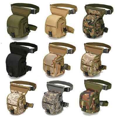 2L Men's Military Outdoor Tactical Fanny Pack Hiking Shoulder Waist Bag Pouch