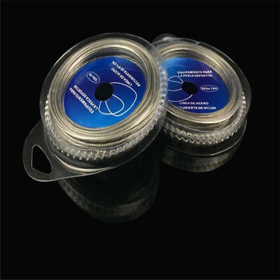 10~120LBS Stainless Steel Wire Sea Fishing Lures Leader Fishing Lines 12g~36g/pc