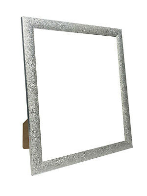 Glitz Silver Picture Photo Frame with White, Black, Ivory and more Colour Mount