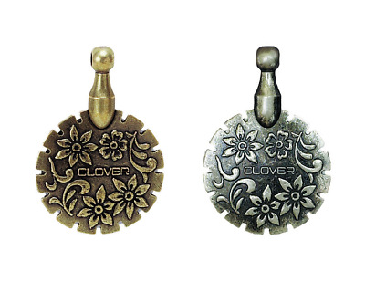 Clover Antique Thread Cutter Pendant - Both Colors Available!