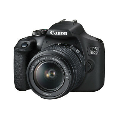 Canon EOS 1500D Kit with 18-55mm IS II Lens Black ZP