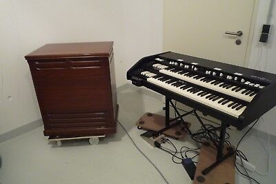 Hammond B3 Clon Key B duo mit Original-Leslie