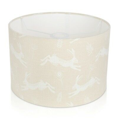 Fryetts Jump Leaping Hares natural cream Lampshade /Table Lamp /Ceiling Pendant
