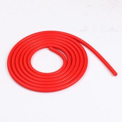 "3MM 0.12"" Universal Silicone Air Vacuum Hose/Line/Pipe/Tube 16.5 Feet Red"