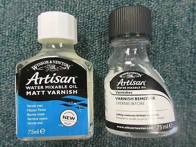 Winsor & Newton Artisan (Water Mixable Oil) 75ml Matt Varnish & Varnish Remover