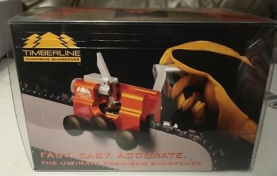NEW Timberline Chainsaw Sharpener with One Carbide Cutter 3/16""