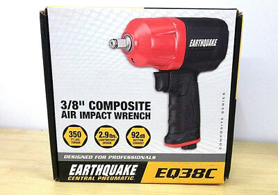 """Earthquake 3/8"""" Composite Air Impact Wrench EQ38C BRAND NEW Central Pneumatic"""