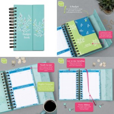 monthly bill organizer budget planner book home journal tracker