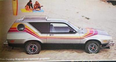 Original Vintage 1978 Ford Pinto, Pony, Sedan, Runabout, Wagons Sales Brochure