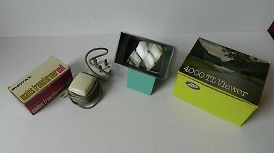 Boots 4000TL Slide Viewer in Box with Transformer