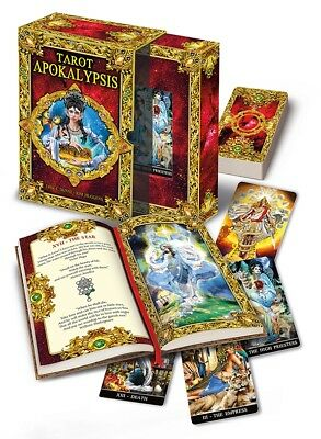 Lo Scarabeo Apocalypses Tarot Kit with Hardcover Colour Book