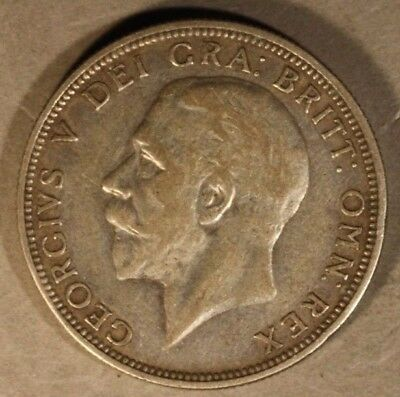 1932 Great Britain Florin Attractive Key Date Coin    ** FREE U.S. SHIPPING **