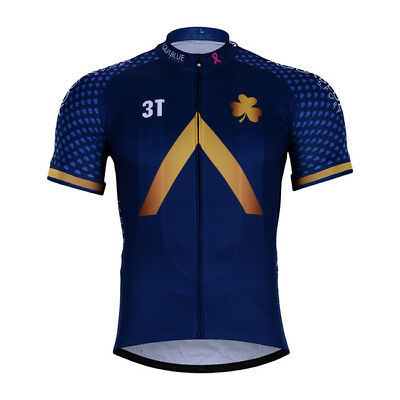 New 2018 Team Aqua Blue Ireland Jersey Hobby Cycling Tour De France Pro c59add402