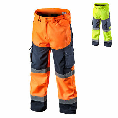 Softshell Safety Trousers work Warning Protection Waterproof