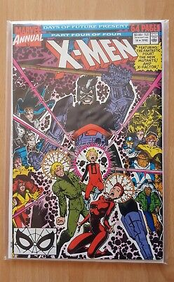 THE X-MEN ANNUAL #14 (1990) VOL.1 - DAYS OF FUTURE PAST PT.4 of 4 * VFN/VFN+ *