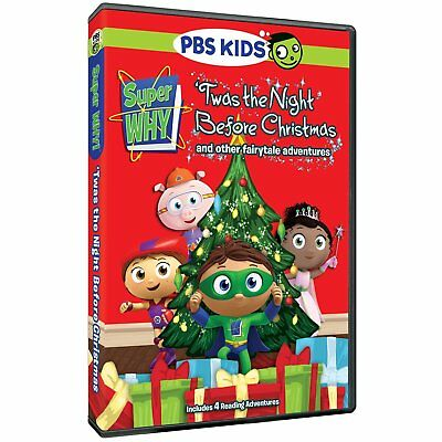 PBS KIDS Super Why! 'Twas the Night Before Christmas and Other Adventures DVD